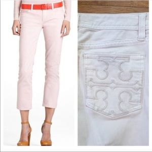 Tory Burch Light pink Cropped Jean
